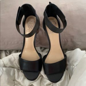 Vince Camuto leather sandals. Never worn.